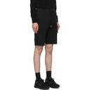 C.P. Company Black Cargo Bermuda Shorts