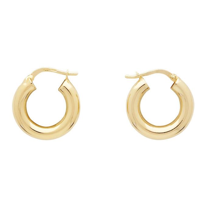 Photo: Bottega Veneta Silver Sterling Earrings