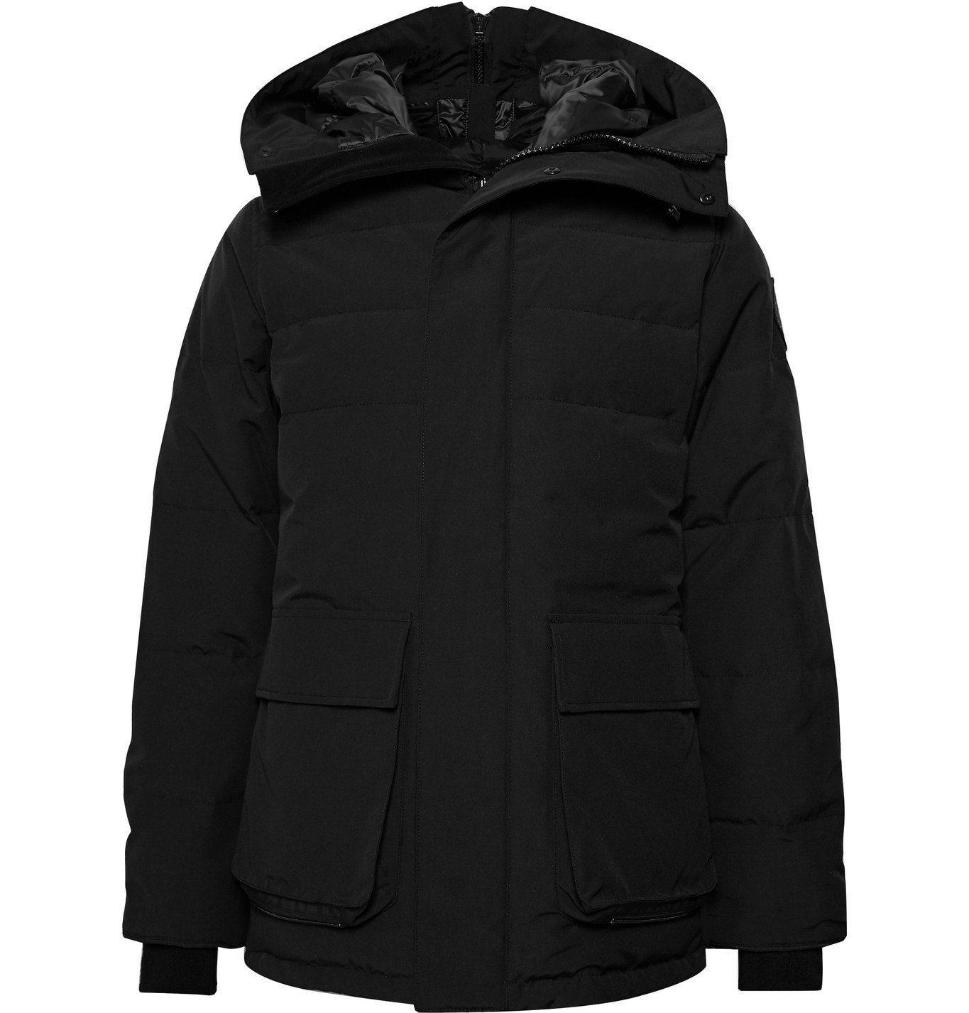 Photo: Canada Goose - Wedgemount Quilted Arctic Tech Hooded Down Parka - Black