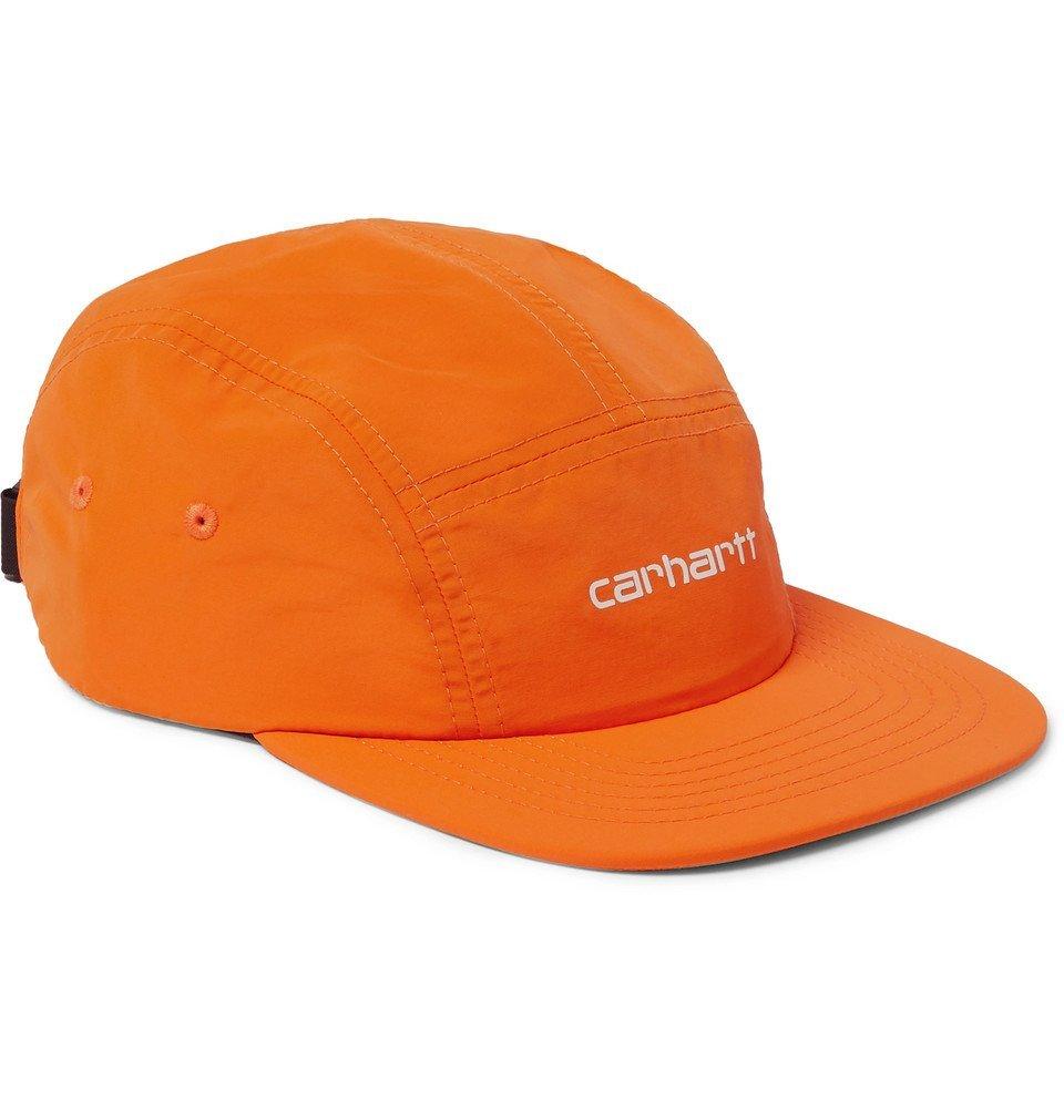 Photo: Carhartt WIP - Logo-Embroidered Nylon Baseball Cap - Orange
