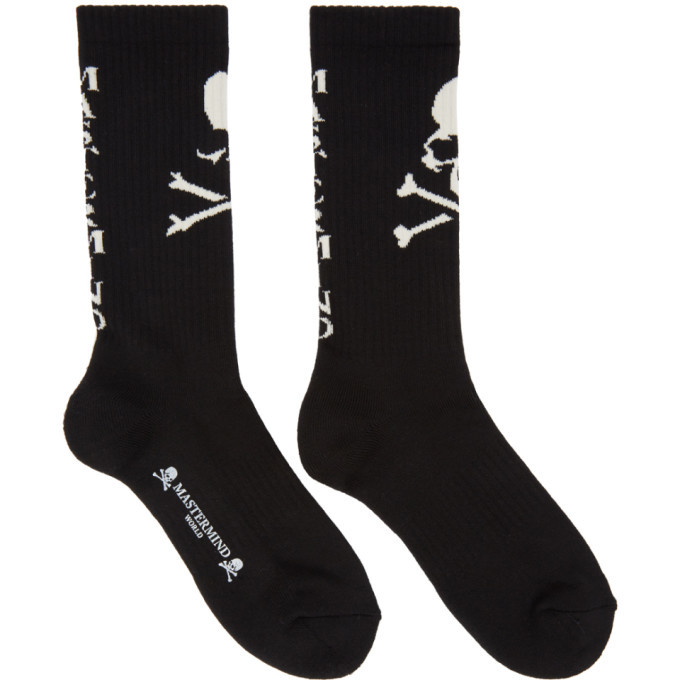 Photo: mastermind WORLD Black Vera Socks