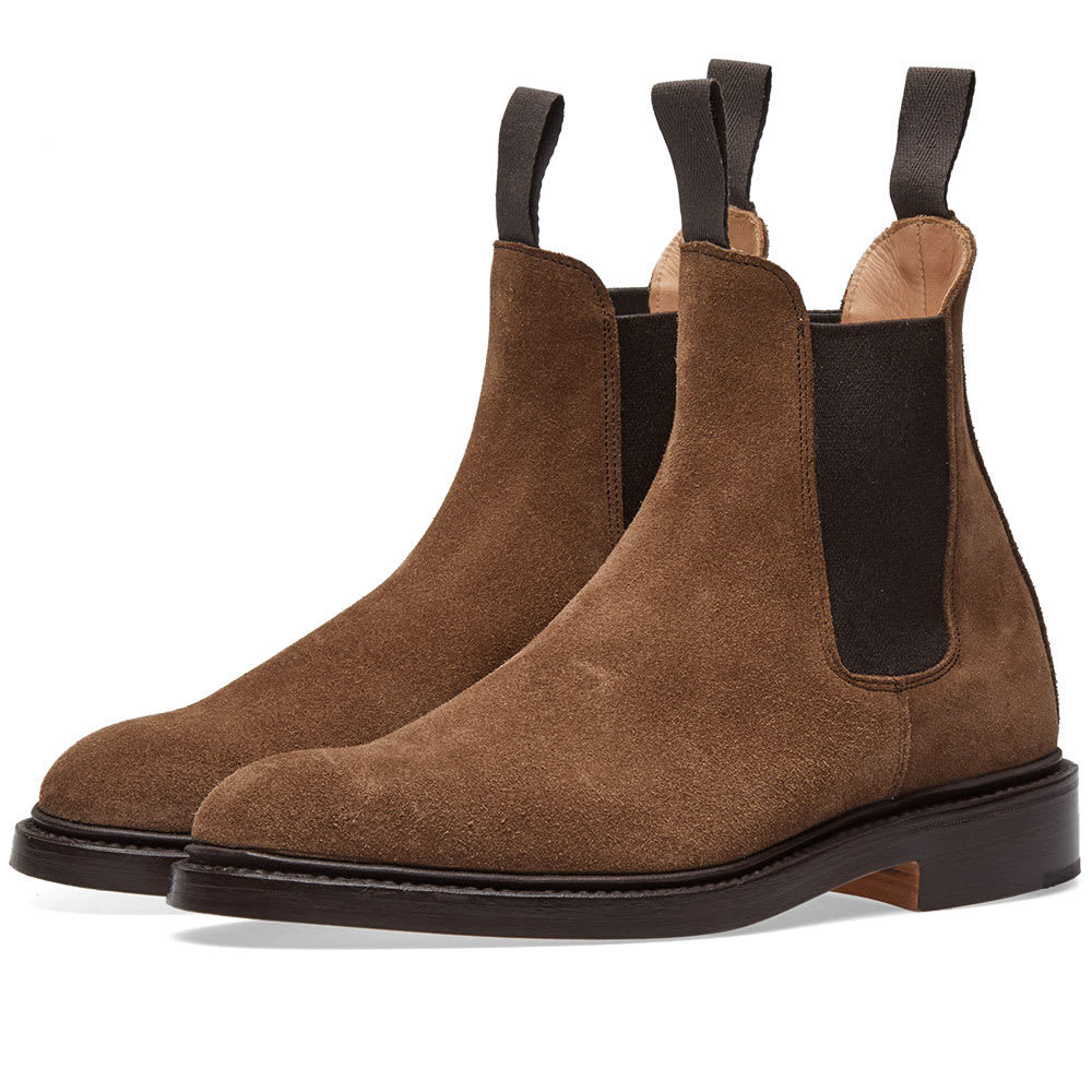 Photo: END. x Tricker's Gigio Chelsea Boot Brown