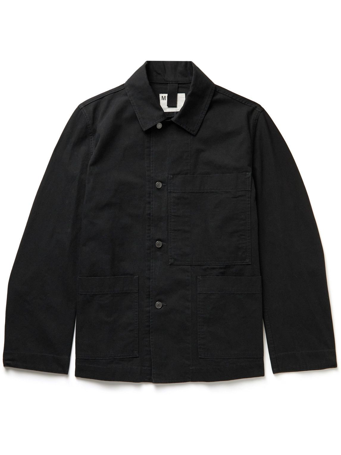 Photo: Margaret Howell - MHL Organic Cotton-Drill Jacket - Black