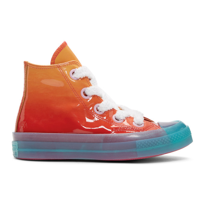 JW Anderson | JW Anderson Orange Converse Edition Glitter