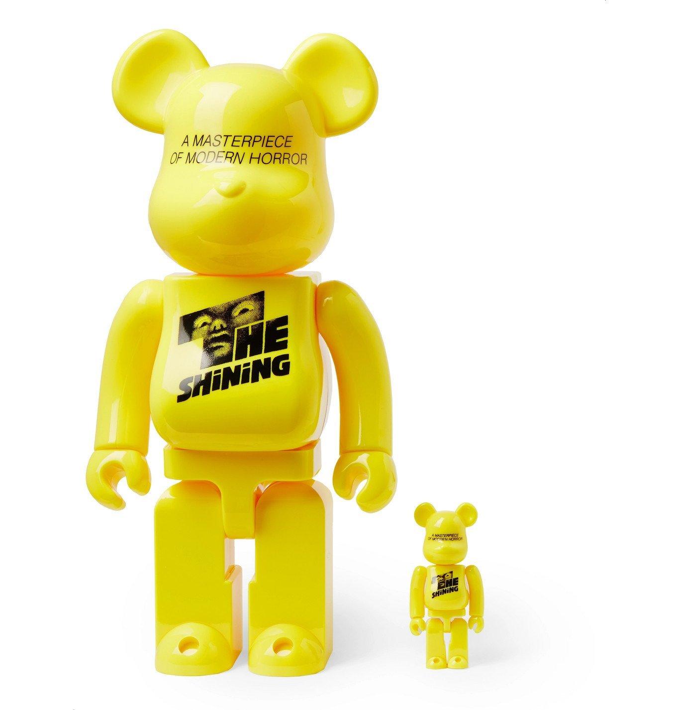 Photo: BE@RBRICK - The Shining 100% & 400% Printed Figurine Set - Yellow