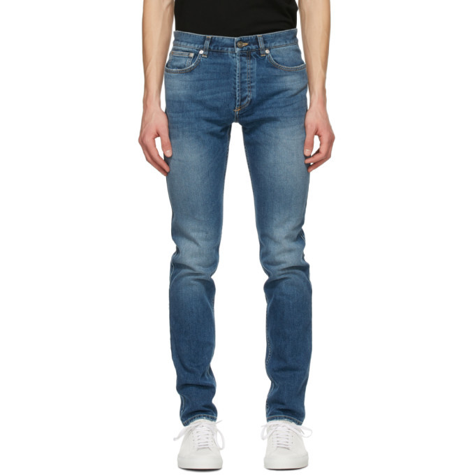 Photo: Givenchy Blue Slim-Fit Jeans