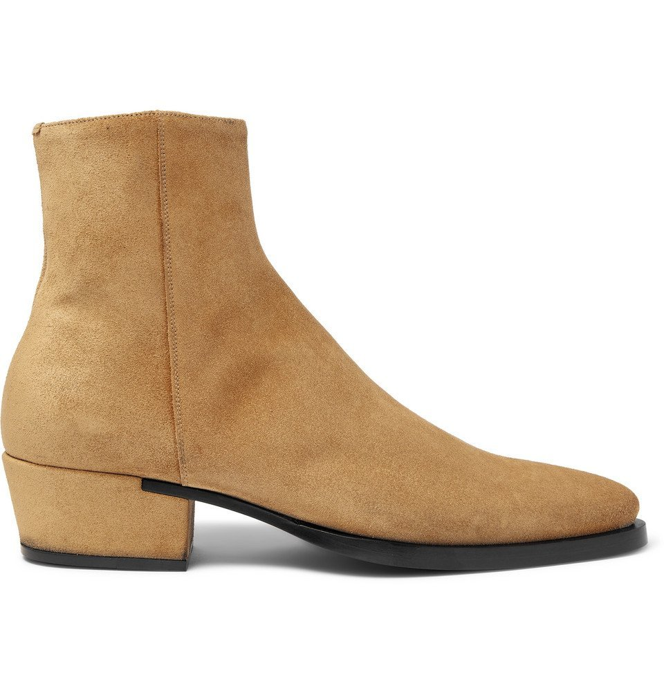 Photo: Givenchy - Dallas Suede Boots - Beige