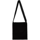 Raf Simons Black Corduroy Tote Bag