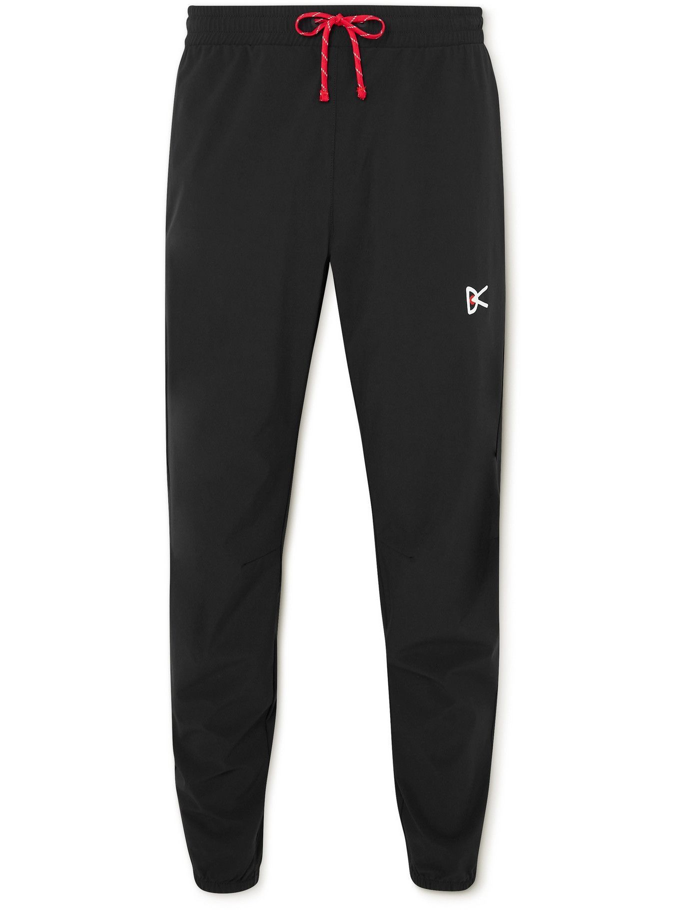 Photo: DISTRICT VISION - Zanzie Slim-Fit Tapered Stretch-Shell Sweatpants - Black