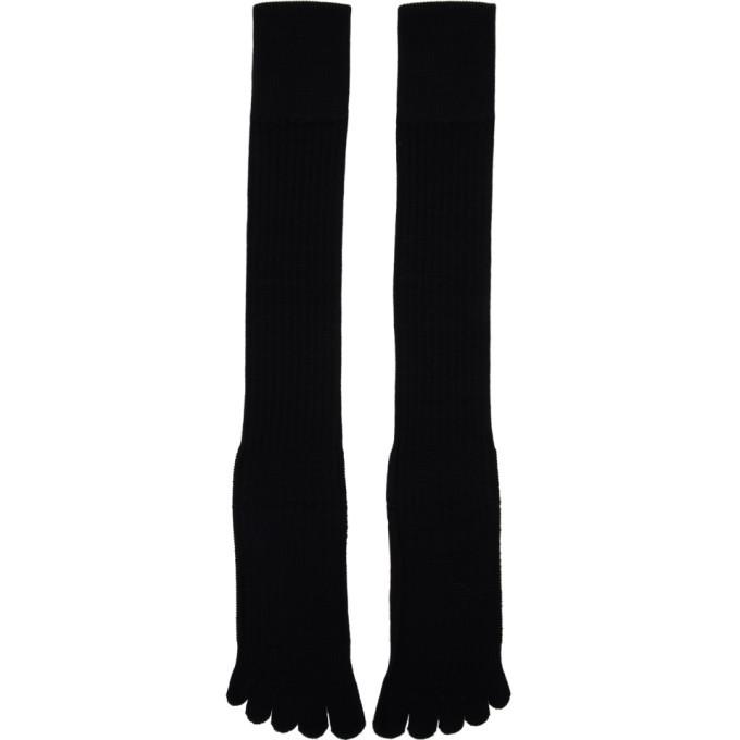 Photo: TAKAHIROMIYASHITA TheSoloist. Black Five Finger Socks