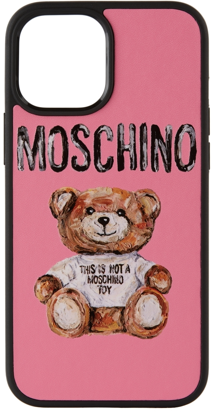 Photo: Moschino Pink 'Not A Toy' iPhone 12 Pro Max Case