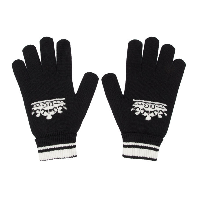Photo: Dolce and Gabbana Black Cashmere Gloves