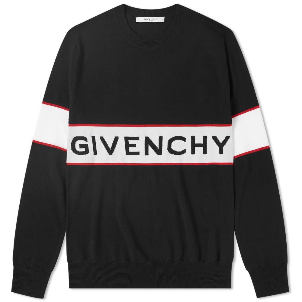 Photo: Givenchy Logo Knit