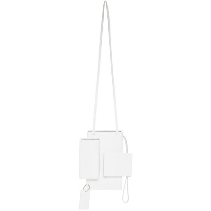 Photo: Afterhomework White Pocket Side Bag