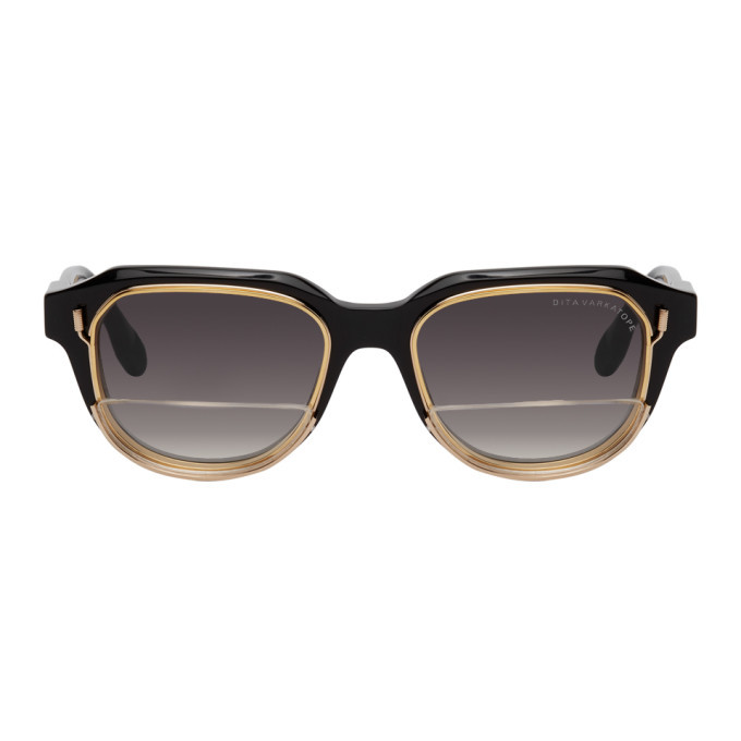 Photo: Dita Black and Gold Limited Edition Varkatope Sunglasses