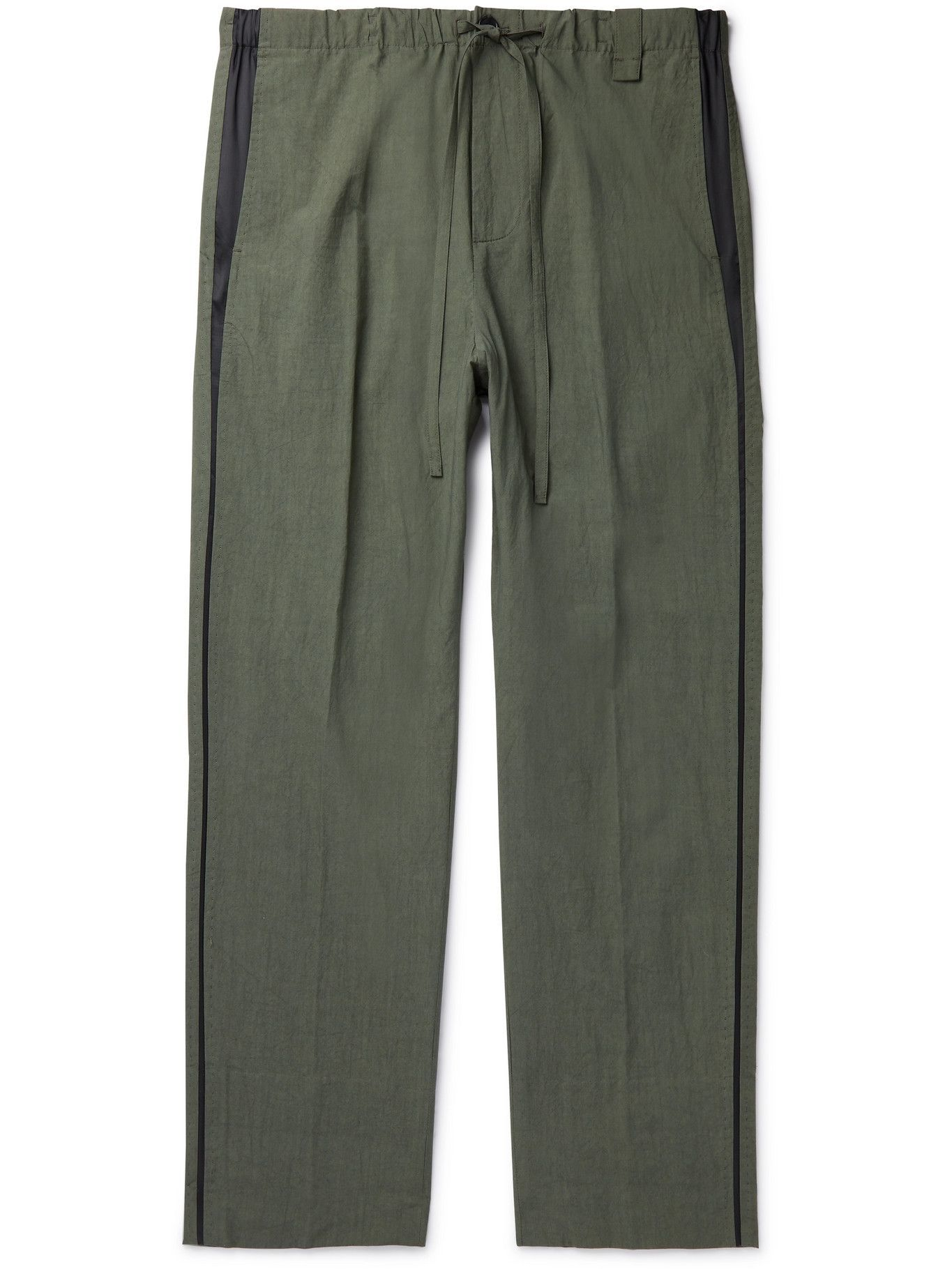 Photo: CRAIG GREEN - Cotton Drawstring Trousers - Green