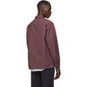 3.1 Phillip Lim Burgundy Half Zip Shirt
