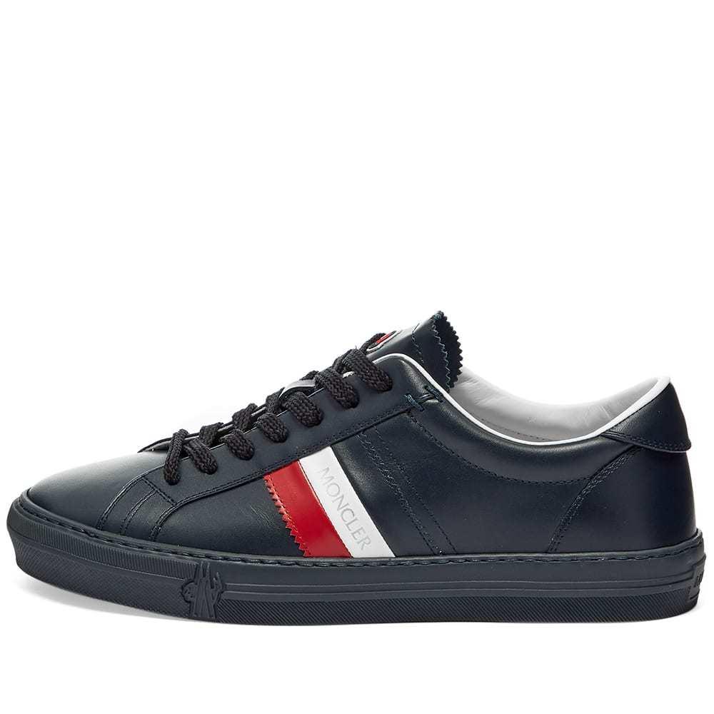 Moncler New Monaco Tricolour Band Cupsole Sneaker