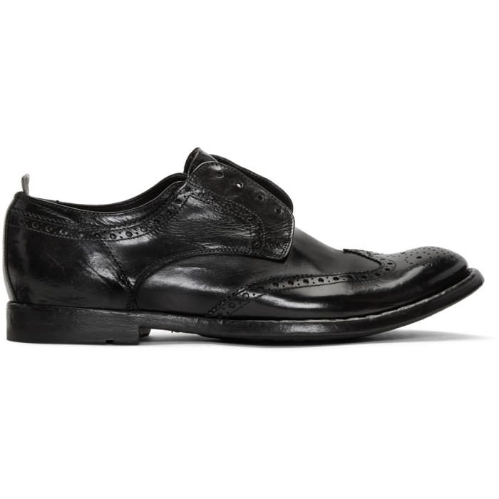 Photo: Officine Creative Black Anatonia 3 Brogues