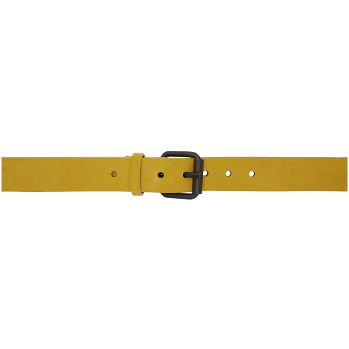 Photo: Haider Ackermann Yellow Suede Medium Belt