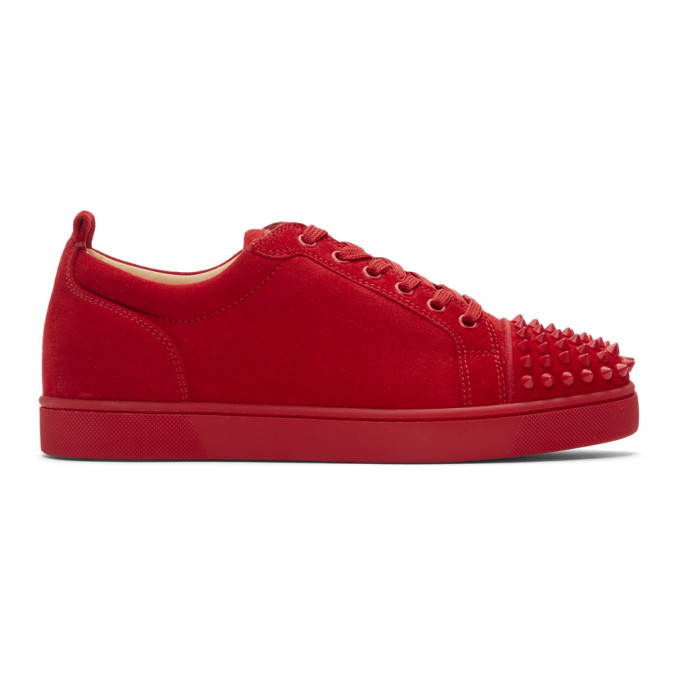 red suede louboutin