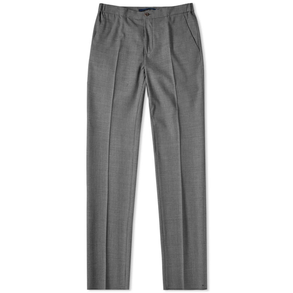 Photo: Incotex Slim Fit Wool Drawstring Trouser