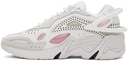 Raf Simons Off-White & Pink Cylon-21 Sneakers