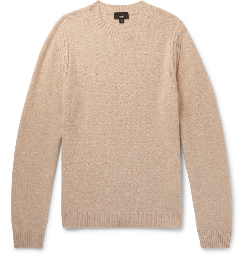 Dunhill - Cashmere and Yak-Blend Sweater - Men - Sand