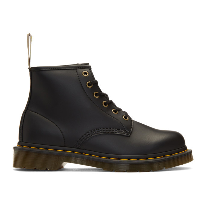 Photo: Dr. Martens Black 101 Vegan Boots