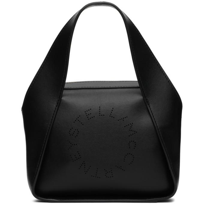 Stella McCartney Black Small Logo Tote