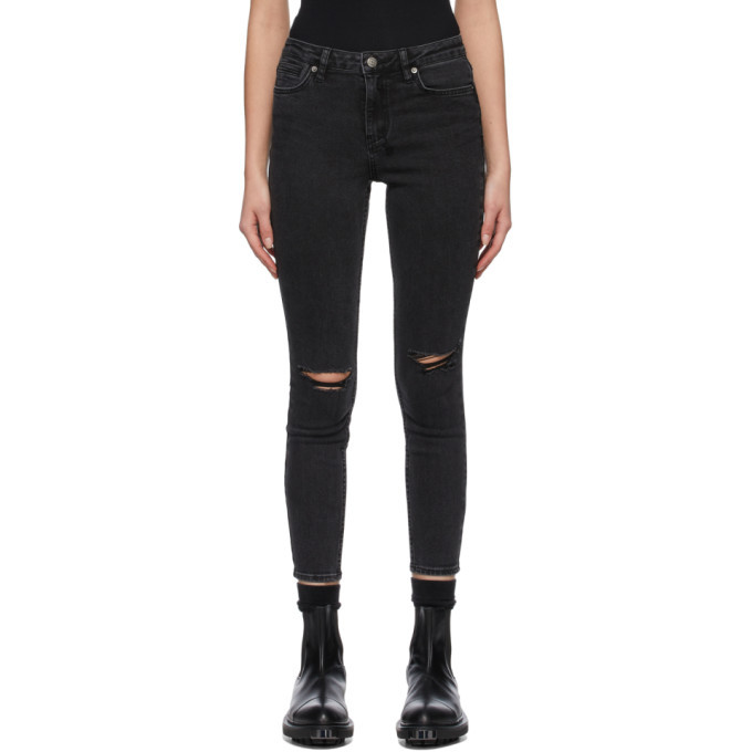 Photo: Ksubi Black Spray On Jeans