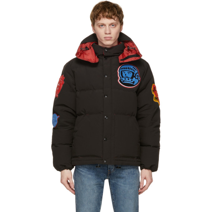 Photo: Billionaire Boys Club Black Down Patches Jacket