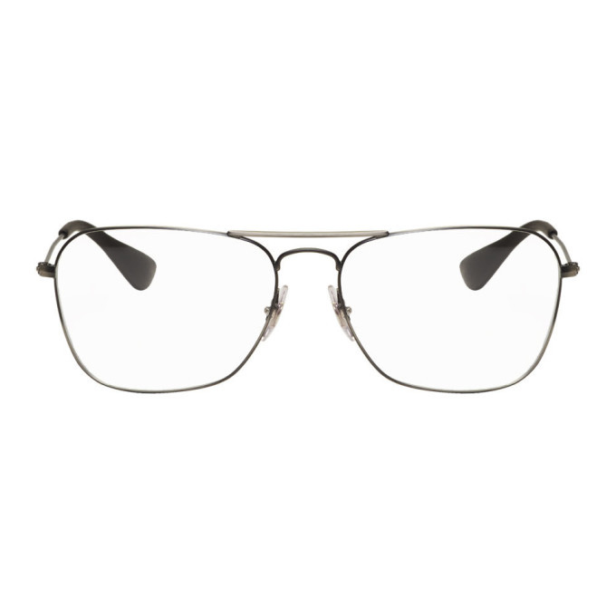 Photo: Ray-Ban Black RB3610V Aviator Glasses