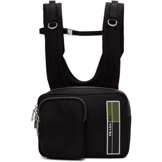 Photo: Prada Black Technical Backpack