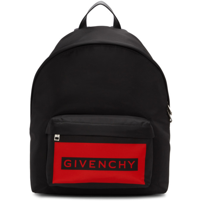 Photo: Givenchy Red and Black Urban Ice Cooler Backpack