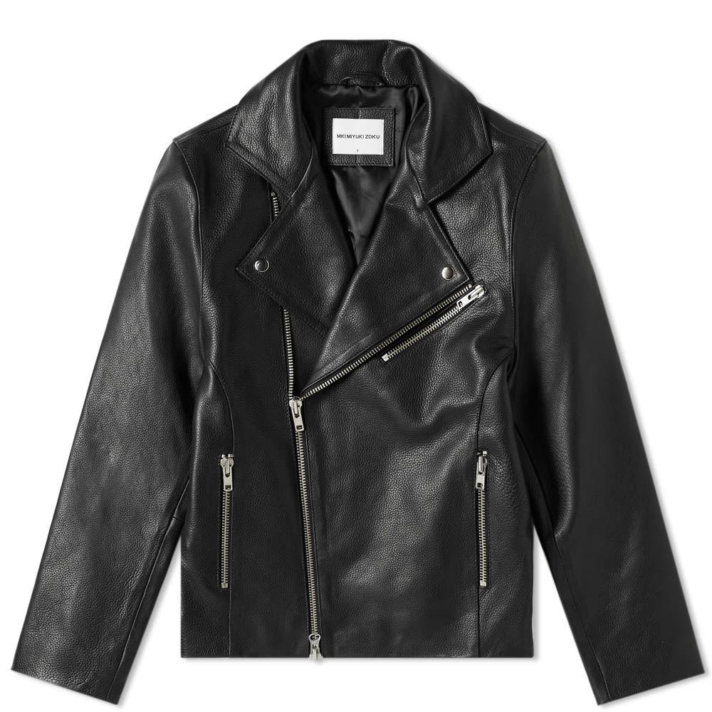 Photo: MKI Leather Biker Jacket