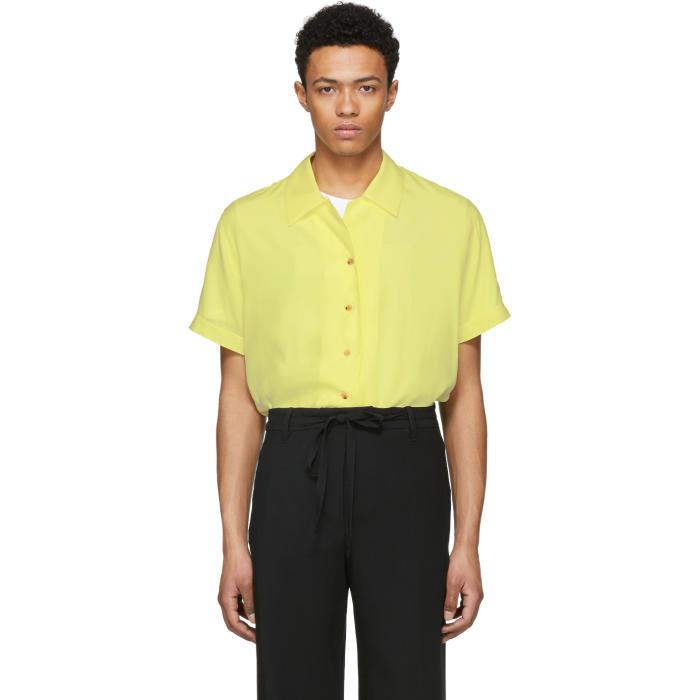 Photo: Acne Studios Yellow Rellah Bowling Shirt
