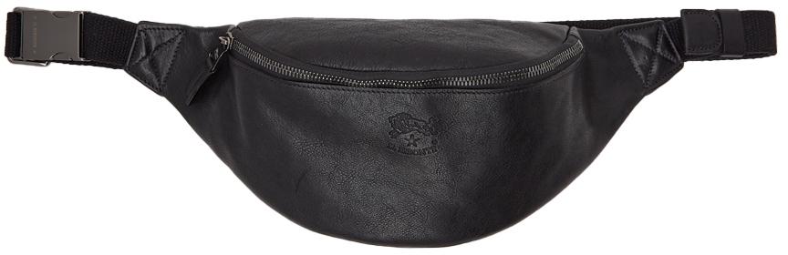 Photo: Junya Watanabe Black Il Bisonte Edition Leather Belt Bag