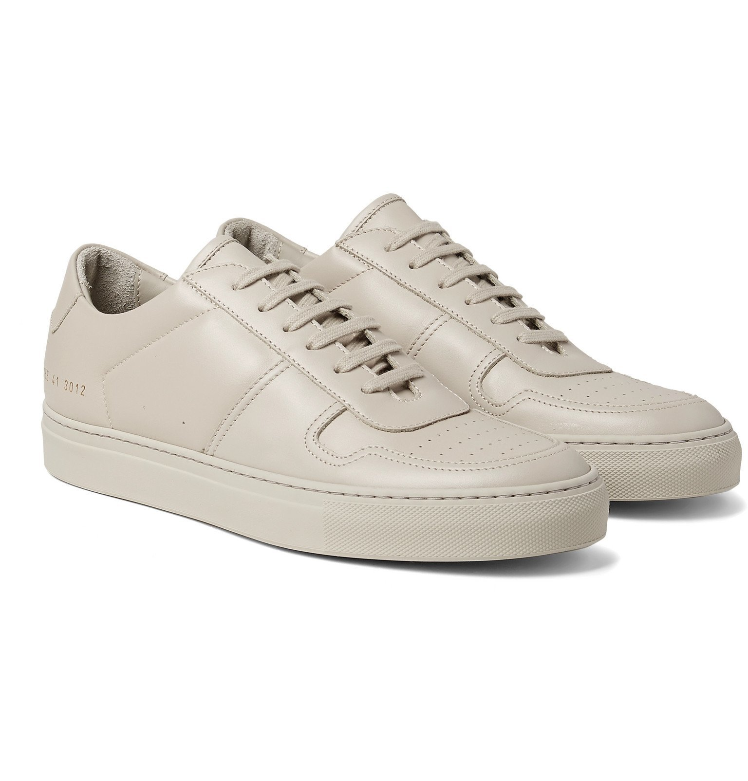 Photo: Common Projects - BBall Leather Sneakers - Gray
