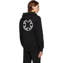 1017 ALYX 9SM Black A Sphere Logo Hoodie