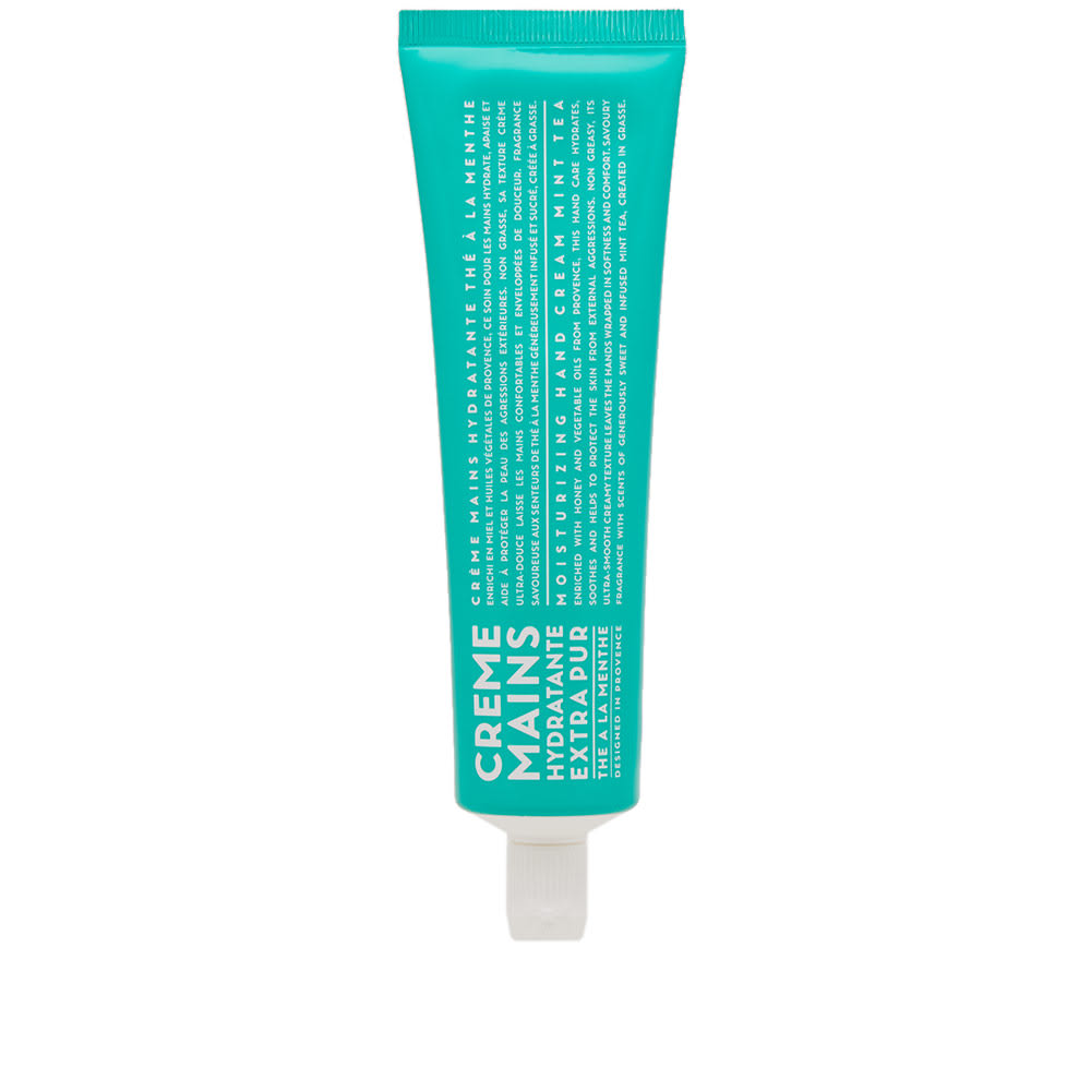 Photo: Compagnie de Provence Mint Tea Hand Cream