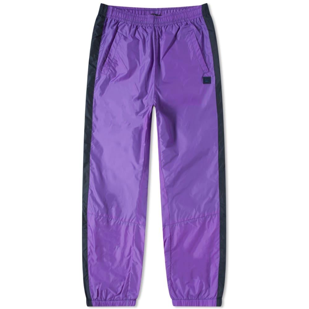 Photo: Acne Studios Phoenix Face Nylon Pant Violet Purple