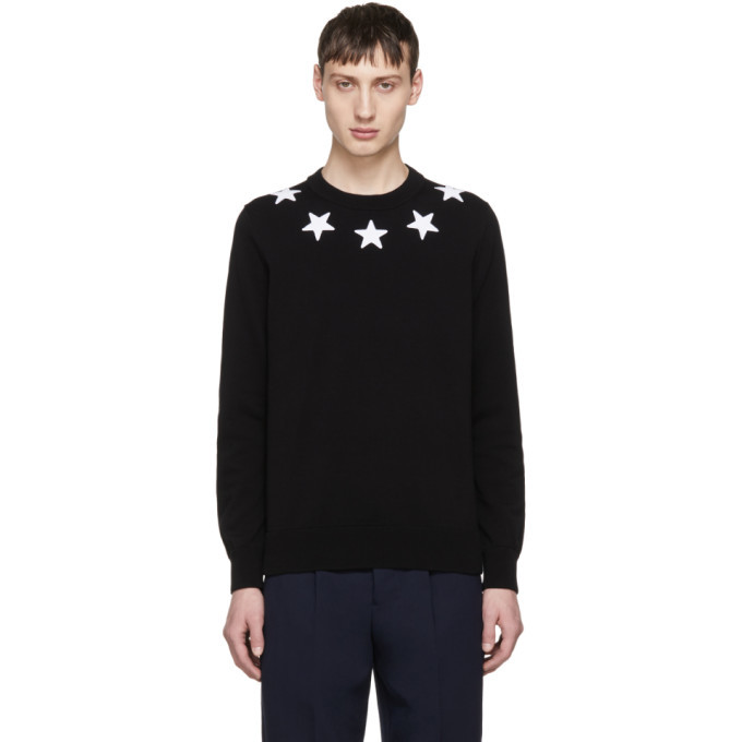 Photo: Givenchy Black and White Stars Sweater