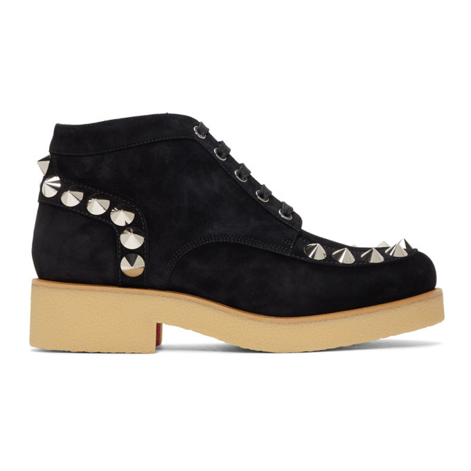 Photo: Christian Louboutin Black Yannick Flat Boots