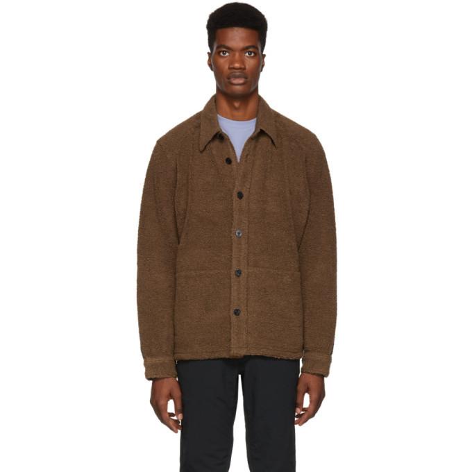 Photo: Nanamica Brown Wool Pile CPO Jacket