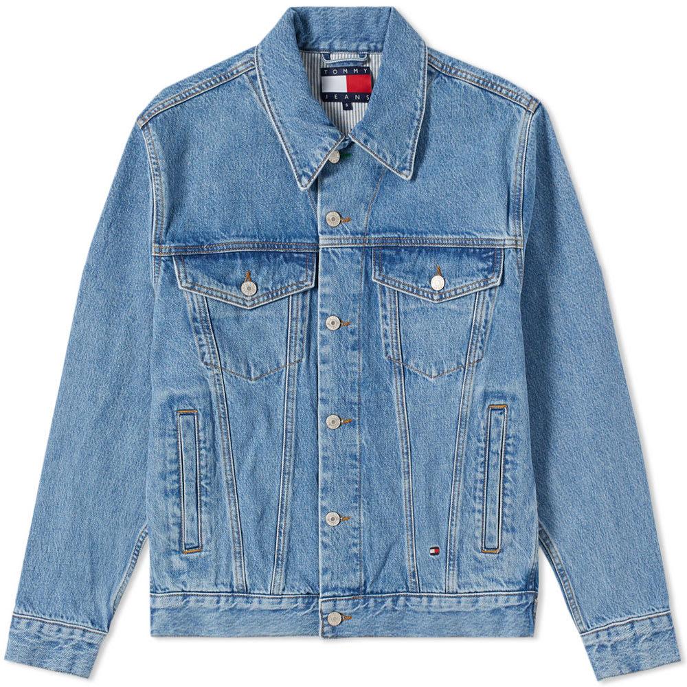 Photo: Tommy Jeans 5.0 90s Logo Denim Jacket