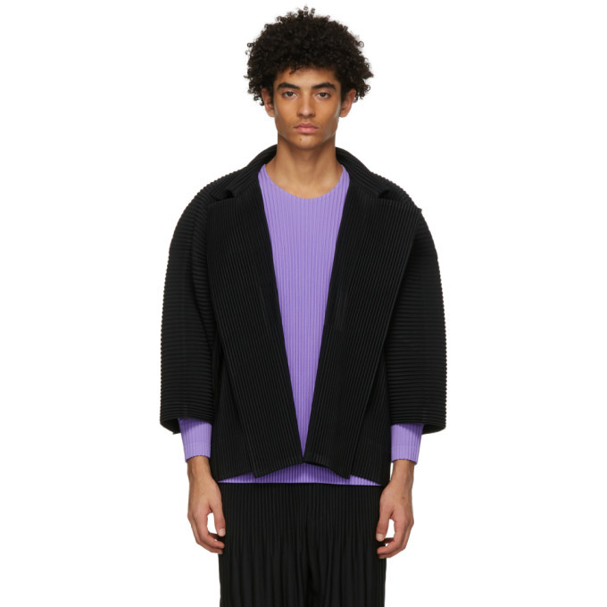 Photo: Homme Plisse Issey Miyake Black Monthly Colors October Jacket