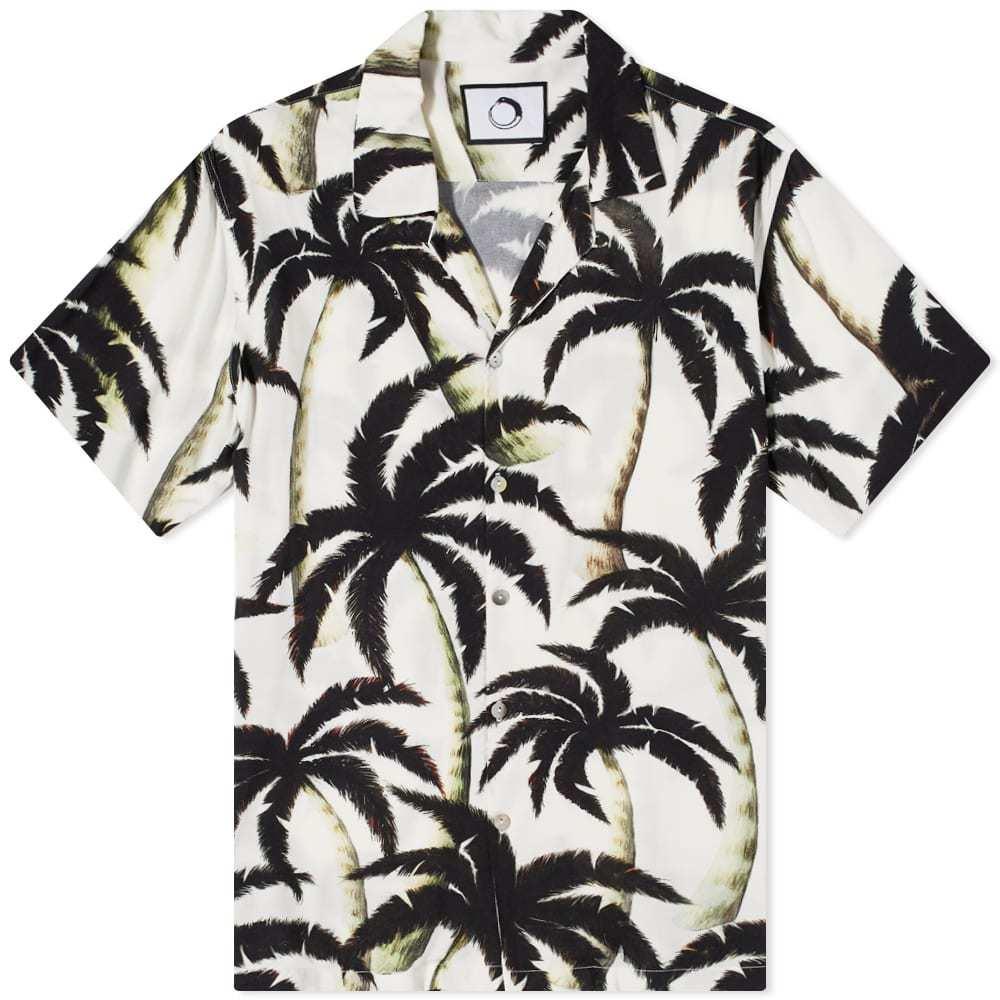 Photo: Endless Joy Palm Print Vacation Shirt