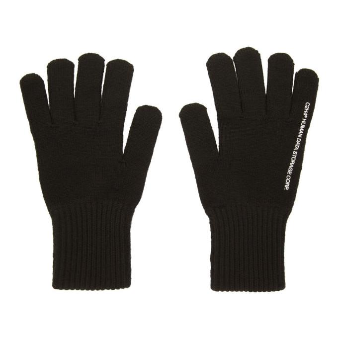 Photo: C2H4 Black Agitator Distressed Hybrid Gloves