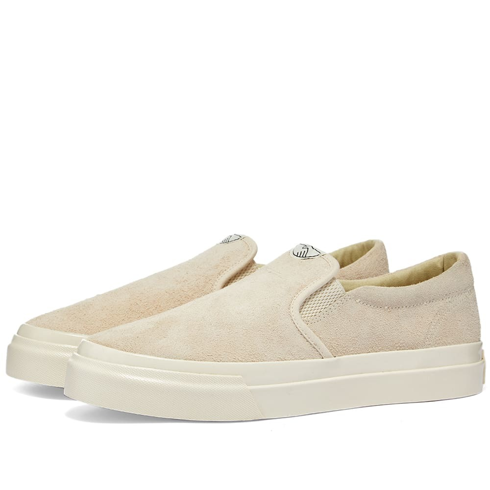 Photo: Stepney Workers Club Lister Hairy Suede Slip On